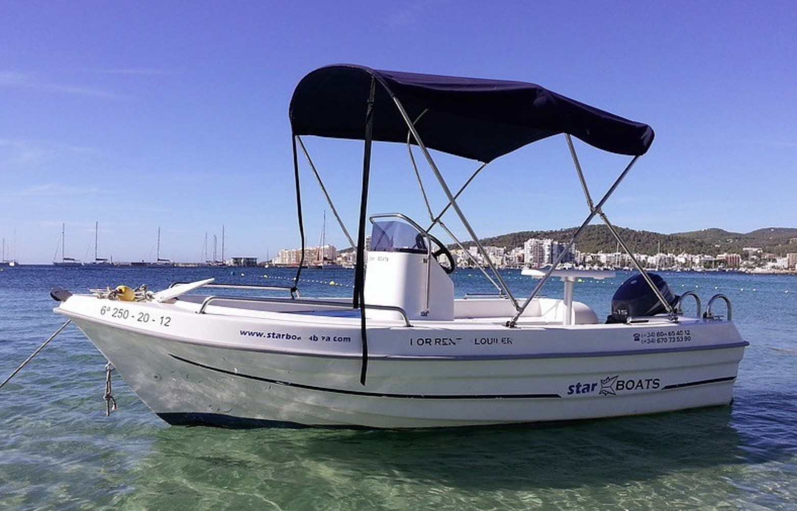 Adventure Boat Rental Without License Ibiza 15 HP