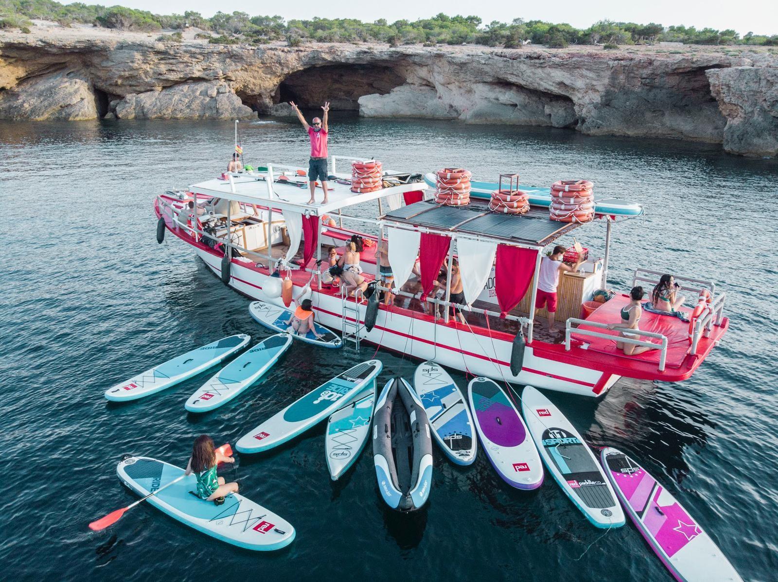 3 hours Ibiza's N1 Boat Trip